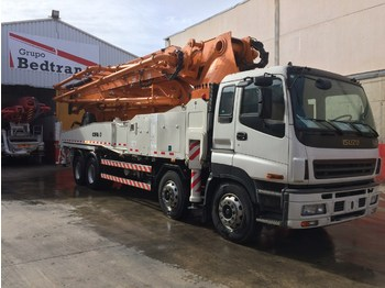 CIFA K 49 XRZ 6 ARMS NEW 0 HOURS ISUZU - concrete pump