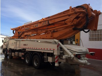 ISUZU CIFA K49 XRZ 6 ARMS 2014 NEW!!! 0 HOURS - concrete pump