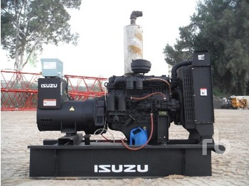 Isuzu Powered 90 Kva Skid Mounted - generator set