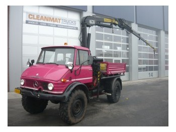 Unimog 416/U1100 Pick Up, Palfinger PK 4600 - mobile crane