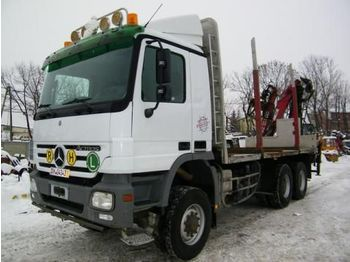 MERCEDES BENZ ACTROS 3346  - forestry equipment