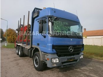Mercedes-Benz Actros 2644L (ID 9621)  - timber transport