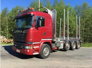 Timber transport SCANIA R730