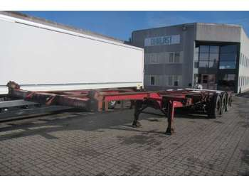 HFR high cube multi - chassis semi-trailer
