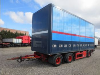 DIV. HFR PK24 Koffer - closed box semi-trailer