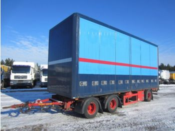 DIV. HFR PK24 Sideopening Aluminium - closed box semi-trailer