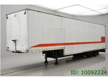 Latre 2 ASSER - closed box semi-trailer