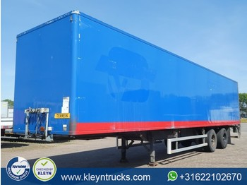 Netam-Fruehauf 2 AXLES BOX chereau box - closed box semi-trailer