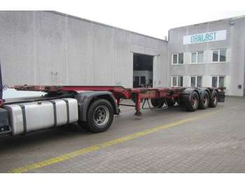 HFR high cube multi - container transporter/ swap body semi-trailer