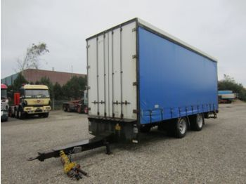 DIV. HFR 20 T. Curtainsider, Ladebordwand - curtainsider semi-trailer