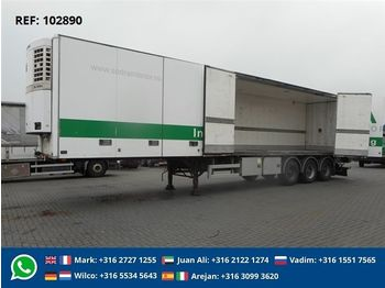 HFR 3-AXLE BPW THERMOKING SL -400E  - curtainsider semi-trailer