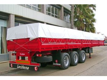 Dropside/ flatbed semi-trailer LECINENA New