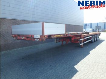 "DIV. H.F.R. SX 240 Rodekro 20"" + 40"" Twistlocks - low loader semi-trailer"
