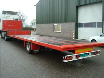 Latre D16/83 - low loader semi-trailer