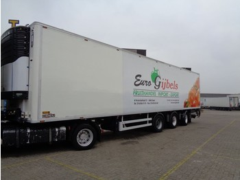 Refrigerator semi-trailer Chereau + 2 Axle steered + Carrier Maxima 1300
