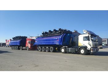 Tipper semi-trailer LIDER 2020 YEAR NEW (MANUFACTURER COMPANY LIDER TRAILER & TANKER ): picture 1