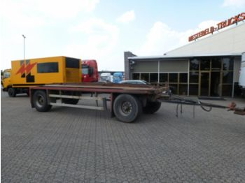 Eggers HW20 STEELSPRING/SINGLE TYRE - autotransporter trailer