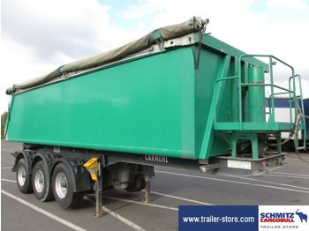 Carnehl Semitrailer Tipper Alu-square sided body 24m³ - trailer
