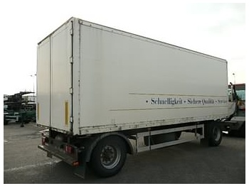 Ackermann AA-F18/7.2 EL - closed box trailer