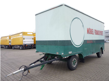 Ackermann L7,2 E6,3 Möbelkoffer BPW Top-Zustand! - closed box trailer