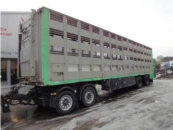 Finkl 11,5m 3 Stock mit Dolly Achse Komplett - closed box trailer