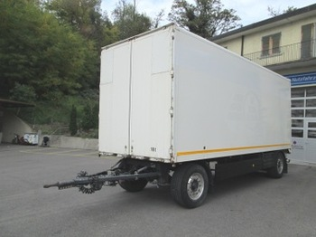 GRÜNENFELDER LA 18 A - closed box trailer