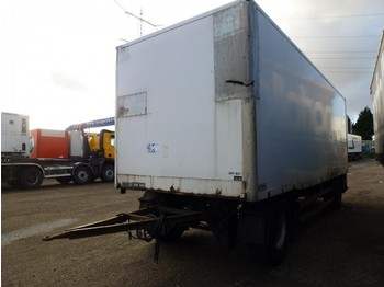 GS Meppel Gesloten Box Koffer isothermic - closed box trailer