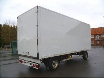 KRUKENMEIER ALUKOFFERANHÄNGER, ABS, LUFT, 2,6 M HO - closed box trailer