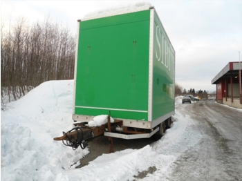 Nor slep PHV20 - closed box trailer