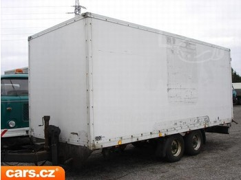 OBERMAIER TFK 89 - closed box trailer