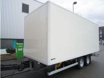 Obermaier OS2-L105L Tandem Koffer 6,16m Luftgefedert - closed box trailer