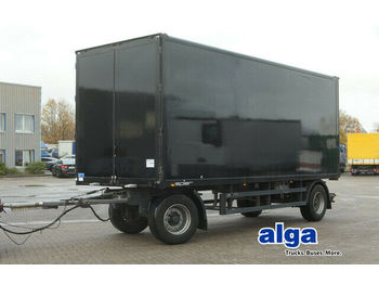 Closed box trailer Spier AGL 290/Durchlader/7,2 m. lang/BPW/18 t.