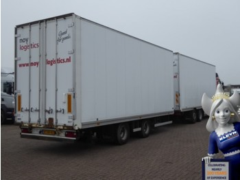 Talson M 20 GARNMENT - closed box trailer