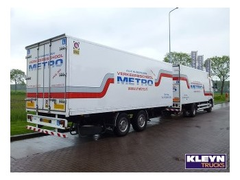 Tracon 2 AXLE - closed box trailer