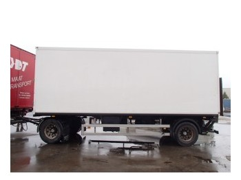 Tracon TA 1010 - closed box trailer
