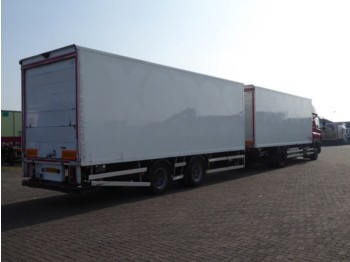 Tracon TM 18 - closed box trailer
