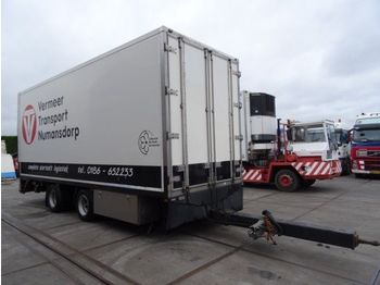 Tracon TM.18/2 ASS/MIDDENAANHANGWAGEN/HEATING/FL  - closed box trailer