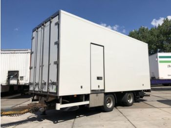Tracon TM.18 DOORLAAD WIPKAR MET LAADKLEP - closed box trailer