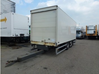 Tracon TM 18 doorlader doorlaadsysteem roldeuren  - closed box trailer