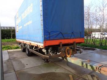 Tracon Uden middenas aanhangwagen - closed box trailer