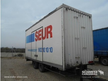 Trouillet Central axle trailer Dryfreight Standard - closed box trailer