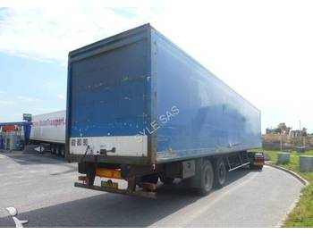 Trouillet ST2200 roll up door - closed box trailer