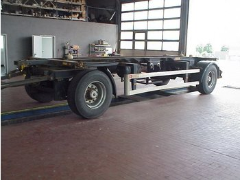 ACKERMANN I-EAF18-7.4/126EL BDF, ABS, Standard - container transporter/ swap body trailer