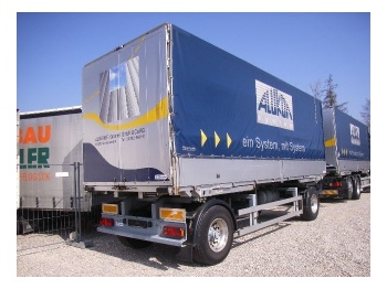 ACKERMANN I-EAF- 18-7.4/126 EL - container transporter/ swap body trailer