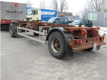 Ackermann VC 14 18t Lafette mit ABS - container transporter/ swap body trailer