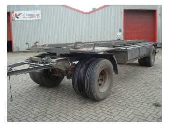 Burg 10-10-S - container transporter/ swap body trailer