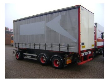 Burg 3 as lift 6.30m lang - container transporter/ swap body trailer