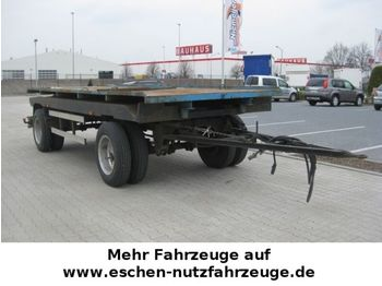 Eggers Abrollcontainer Anhg  - container transporter/ swap body trailer