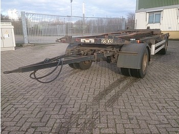 Eggers HWT 18 ZR/1 - container transporter/ swap body trailer
