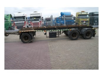 GS Meppel 3 AXLE ** CONTAINER TRAILER - container transporter/ swap body trailer
